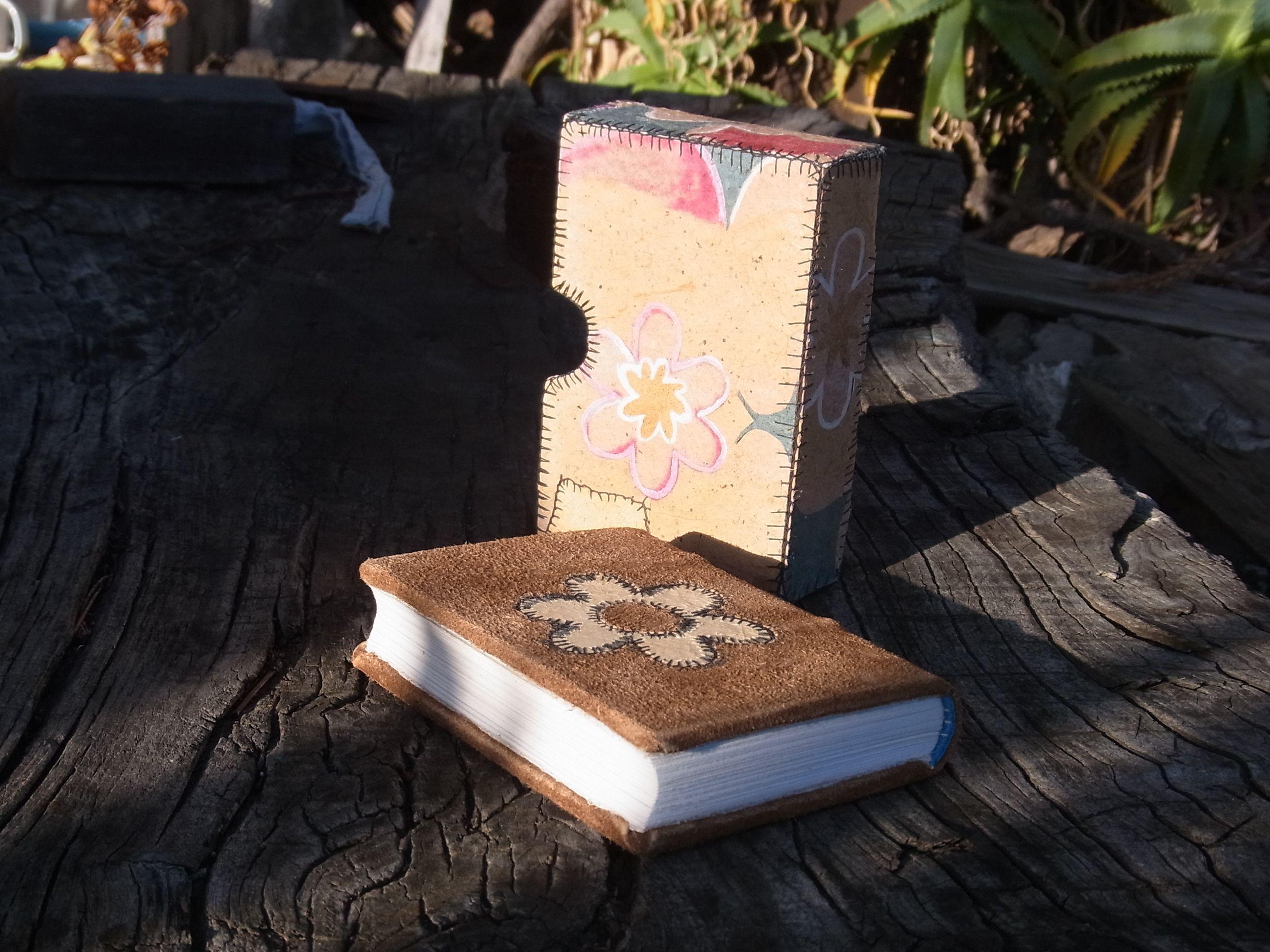 Vista del libro fuera del estuche.