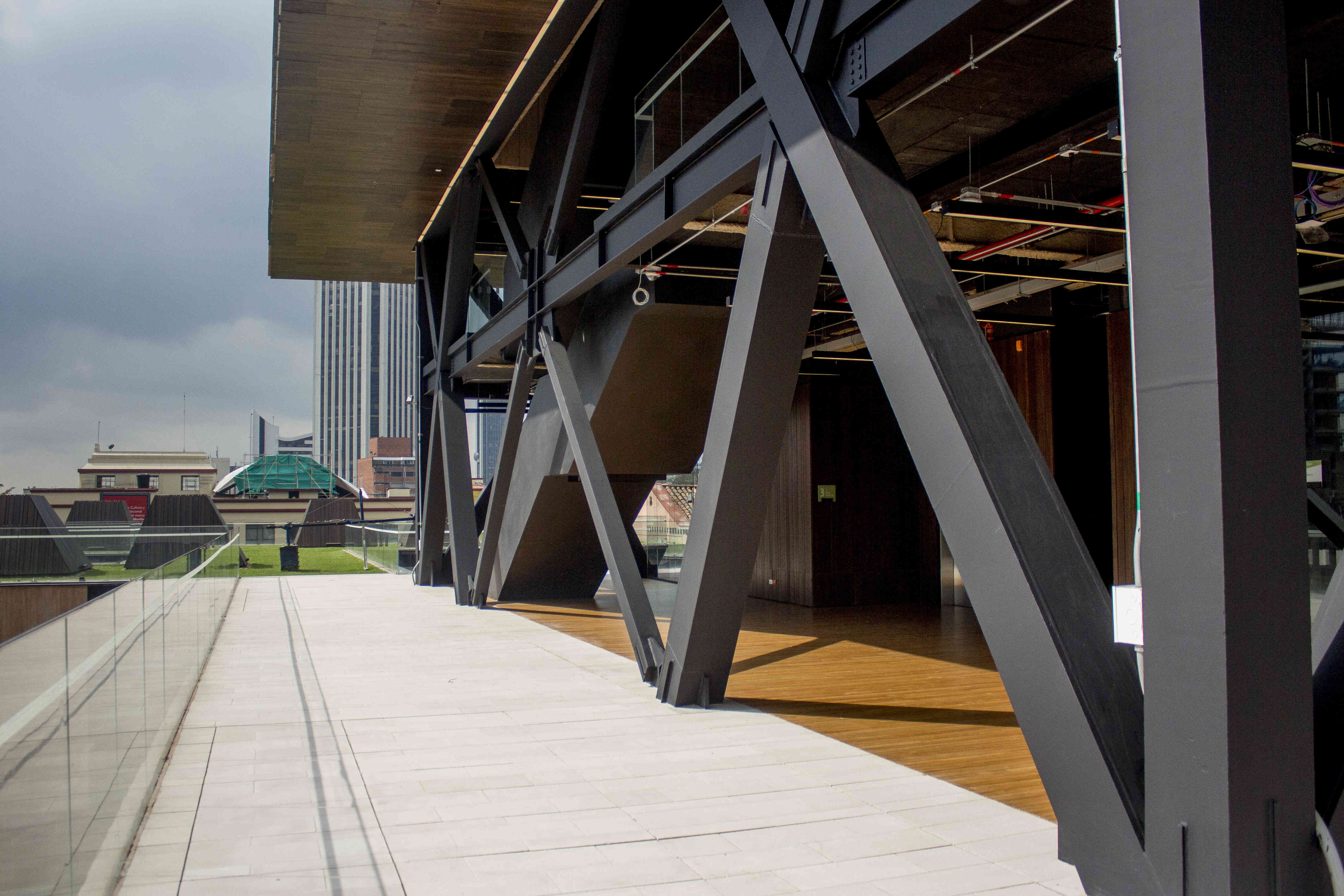 Braced frame with tubular steel sections | Steel Structures ...