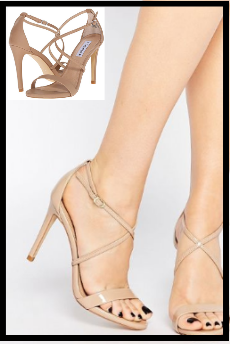 c6748812fcdb Steve Madden Women s Feliz Heel Dress Sandal with Strap in Neutral are one  of my top faves because of their versatility! They are cute with skinny  jeans or ...