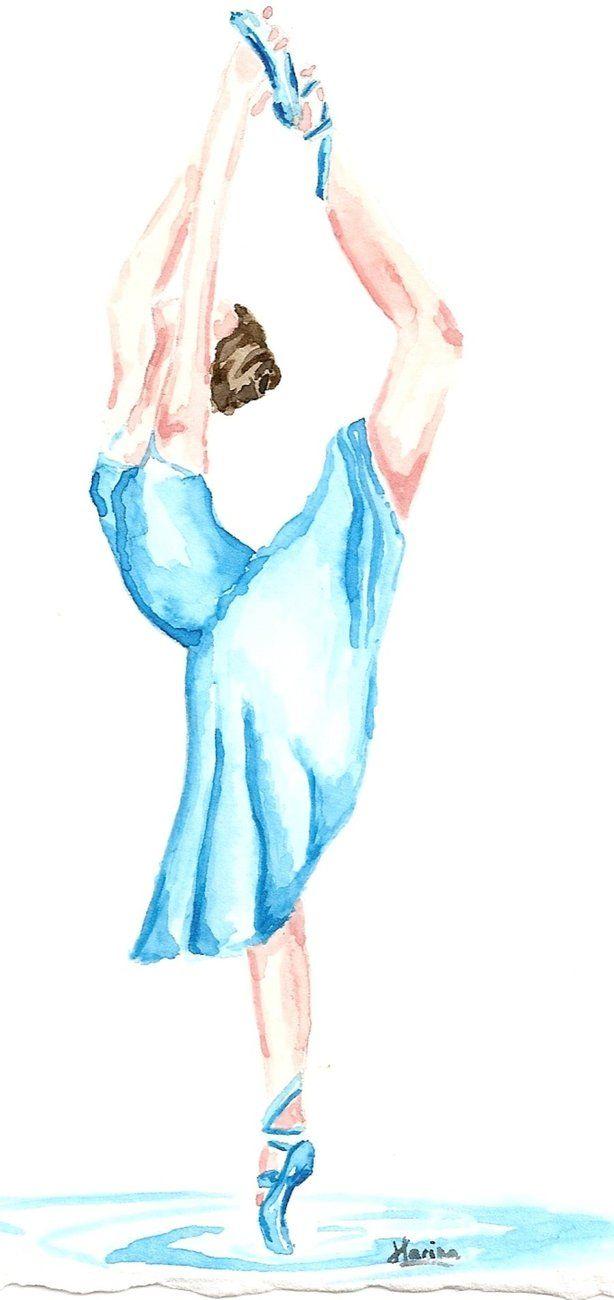 danseuse classique by ouistina on deviantart peintures pinterest danseurs classique et. Black Bedroom Furniture Sets. Home Design Ideas