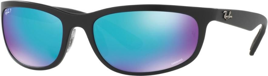 749fd3c0ae Ray-Ban RB4265 Chromance Polarized Sunglasses Matte Black Green Blue Polar  Avi Contrast
