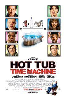 Hot Tub Time Machine 2010 Hot Tub Time Machine Time Machine Movie Tub Time