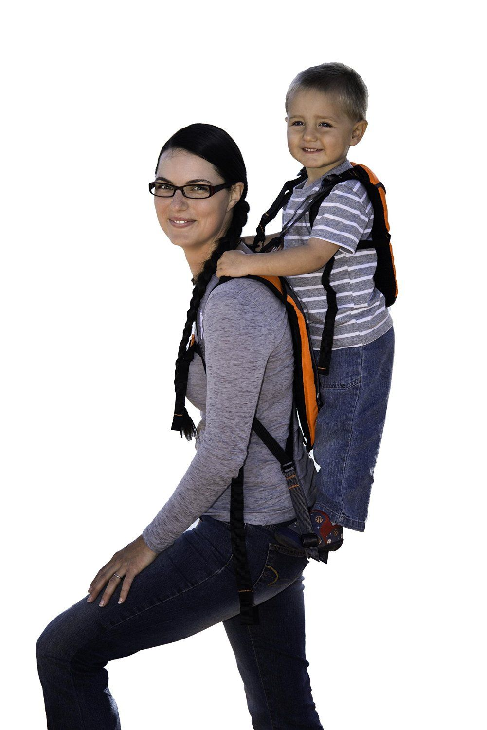 Piggyback Rider Explorer Model - Standing Child Toddler Carrier ...