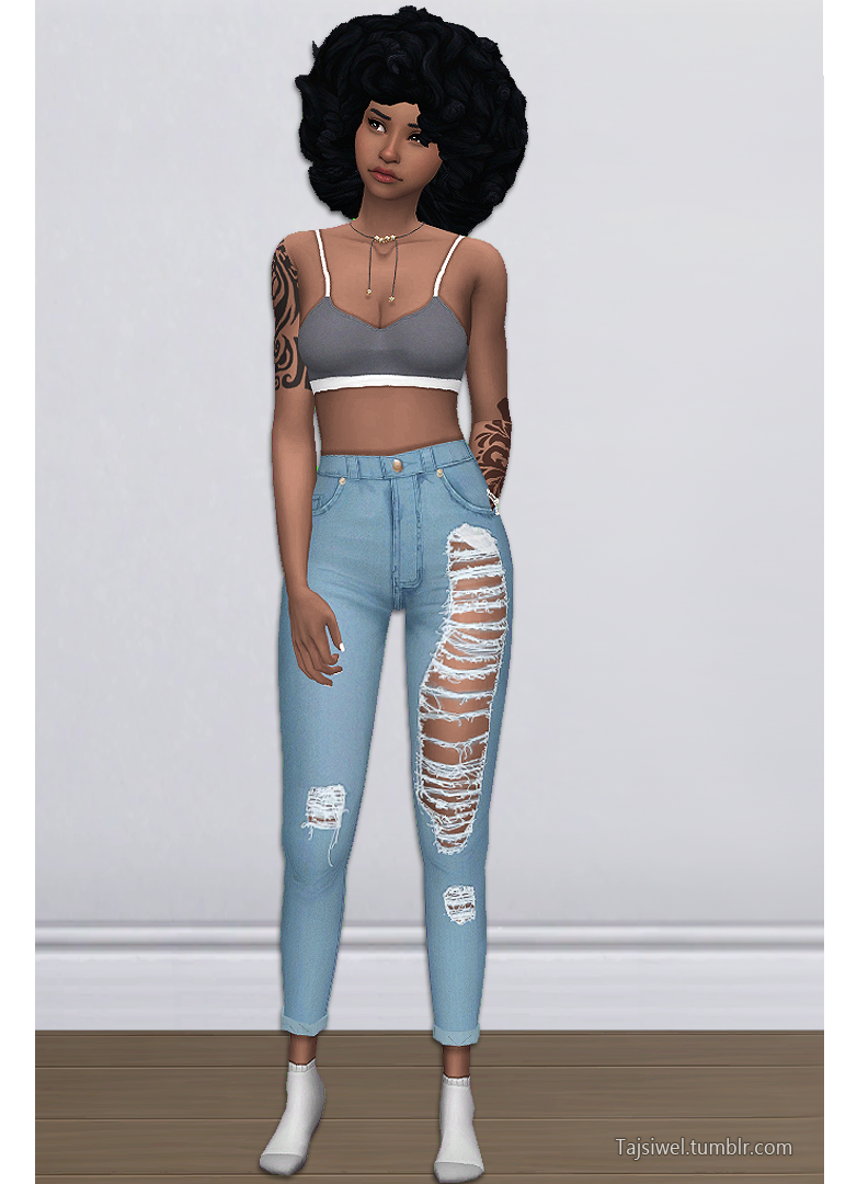 TL | Tajsiwel Lauran S4 Jeans | need | Sims 4 mm, Sims cc, Sims