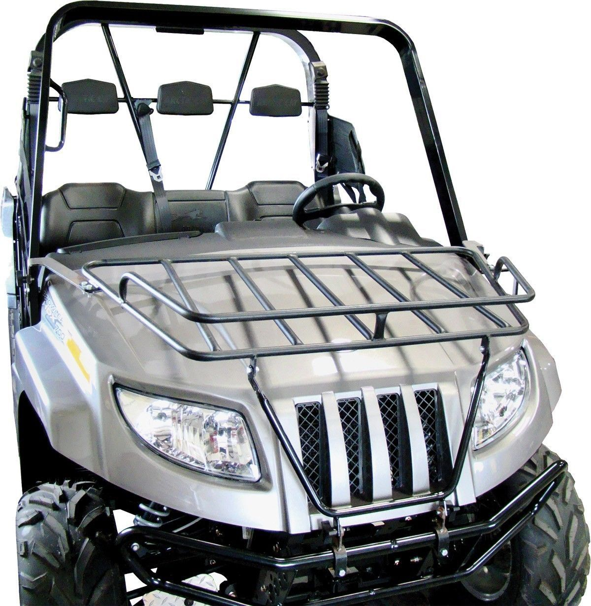 Rear Cargo Rack with Tailgate by Razorback Offroad for