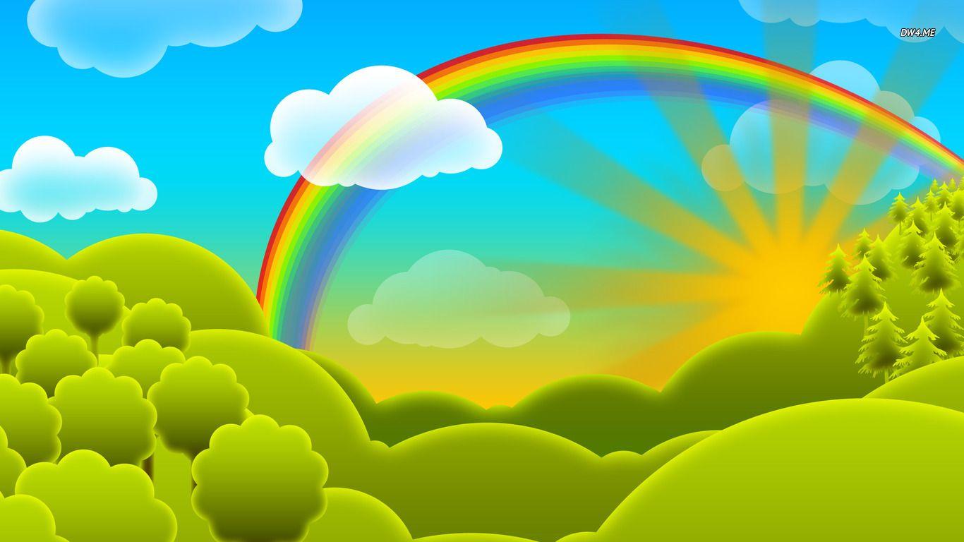 Rainbow Cartoon id Drawing Pinterest
