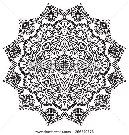 Mandala Vector Stock Photos, Images, & Pictures | Shutterstock ...
