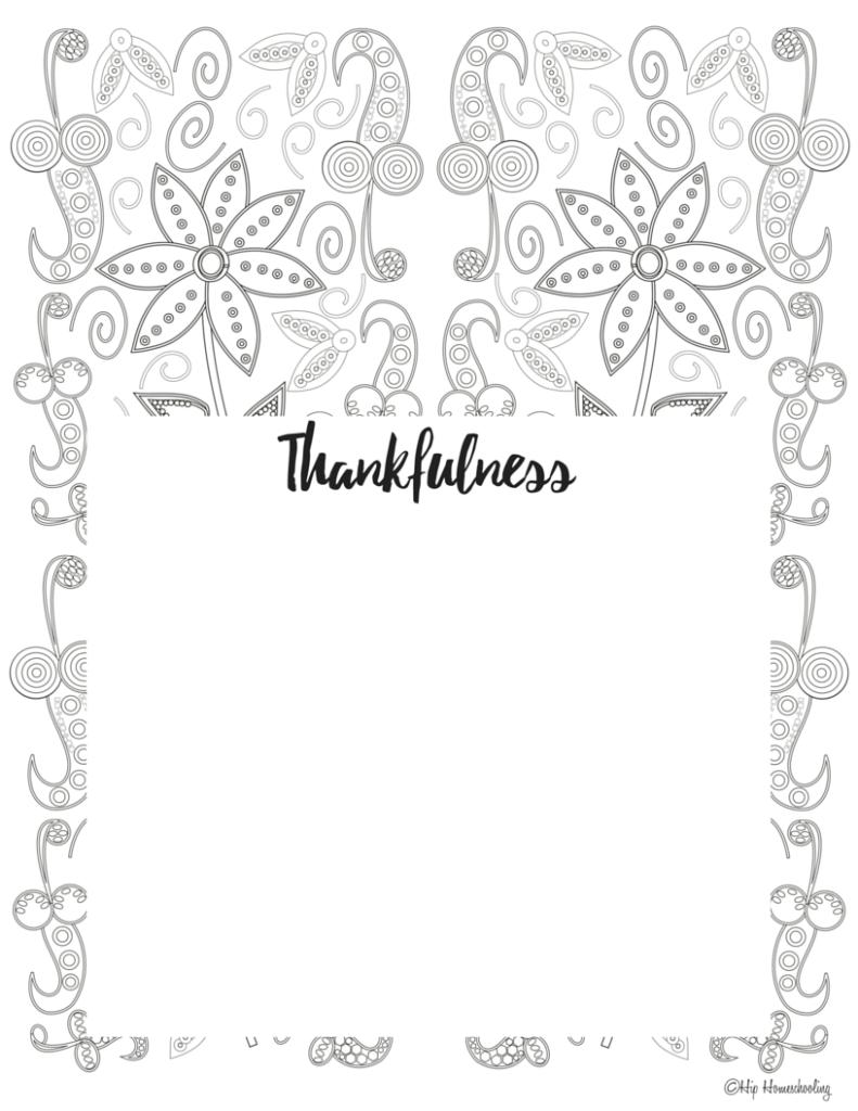 Free Gratitude Journal Template Plus Coloring Page Gratitude Journal Printable Journal Template Gratitude Journal