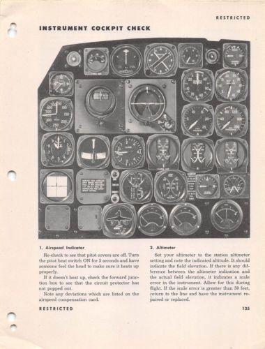 A Invader Pilot Training Manual World War Ii Book Flight Manual