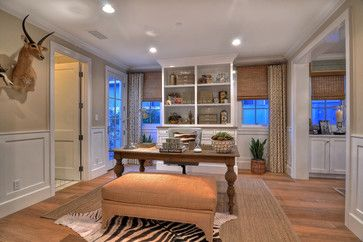 Newport Beach - Home Office - traditional - home office - orange county - Details a Design Firm - the window coverings