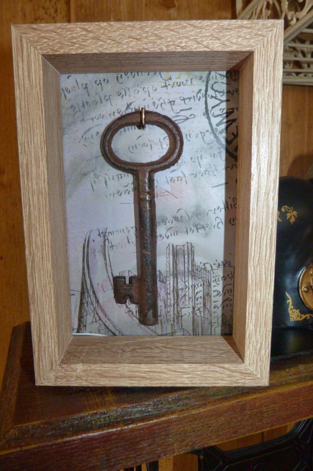 Cuadro con llaves | Para la casa del lago | Pinterest | Cuadro ...