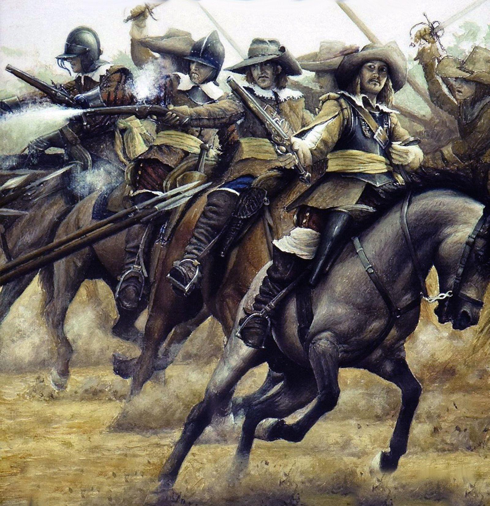 Charging Parliamentarian cavalry   MCA (Motor Club OF America ...