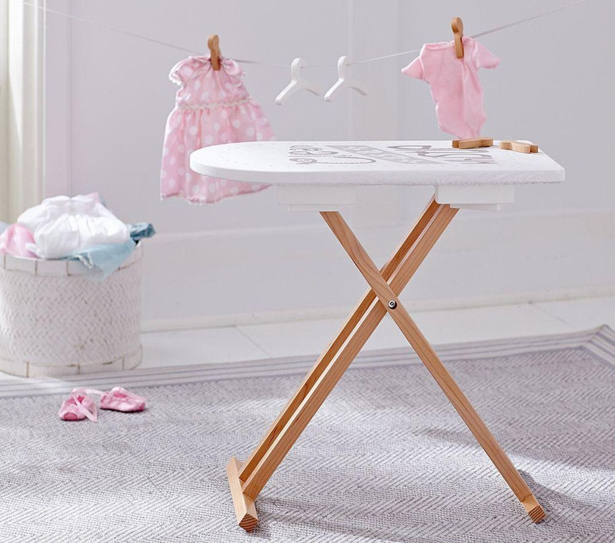 clean as a whistle ironing board | baby eva | iron board