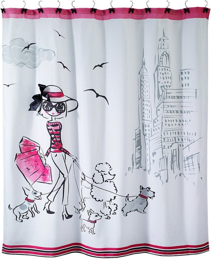 Chloe Bath Collection In 2020 Shower Curtain Bathroom Collections Unique Shower Curtain