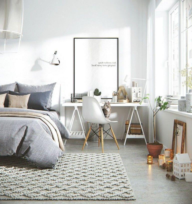 97 Marvelous Minimalist Bedroom Decor Ideas Apartment Interior Decorating Scandinavian Design Living Room Living Room Scandinavian