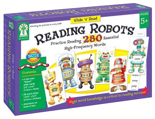 Key Education Publishing Reading Robots « Game Time Home
