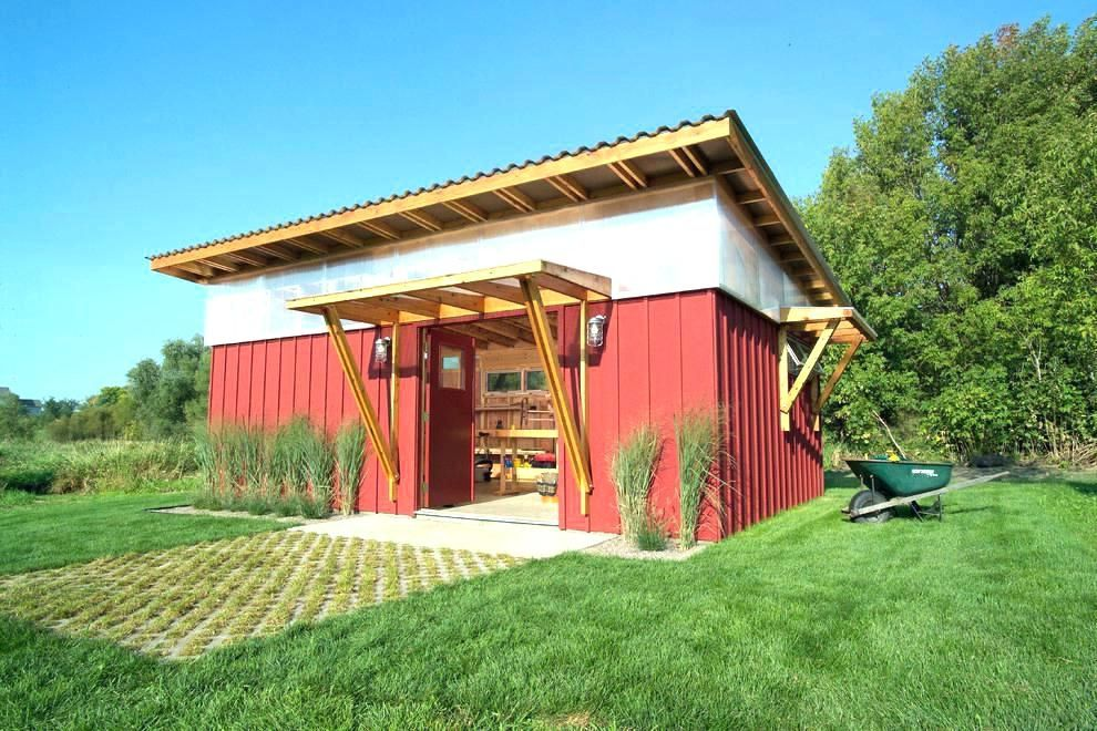 Trend Shed Roof Garage Plans Ideas Patio Studio