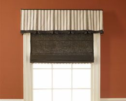 Box Pleat Board Mounted Valance