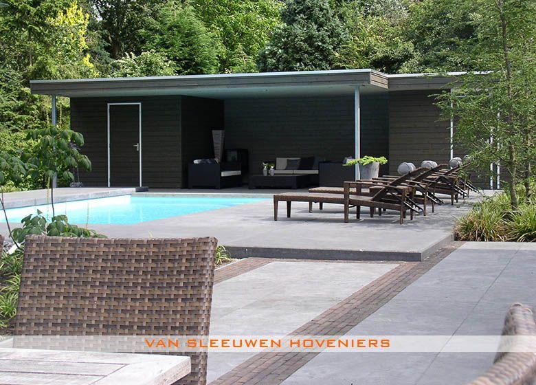 Tuin met zwembad piscine pinterest tuin tuinontwerp en ibiza - Klein natuurlijk zwembad ...