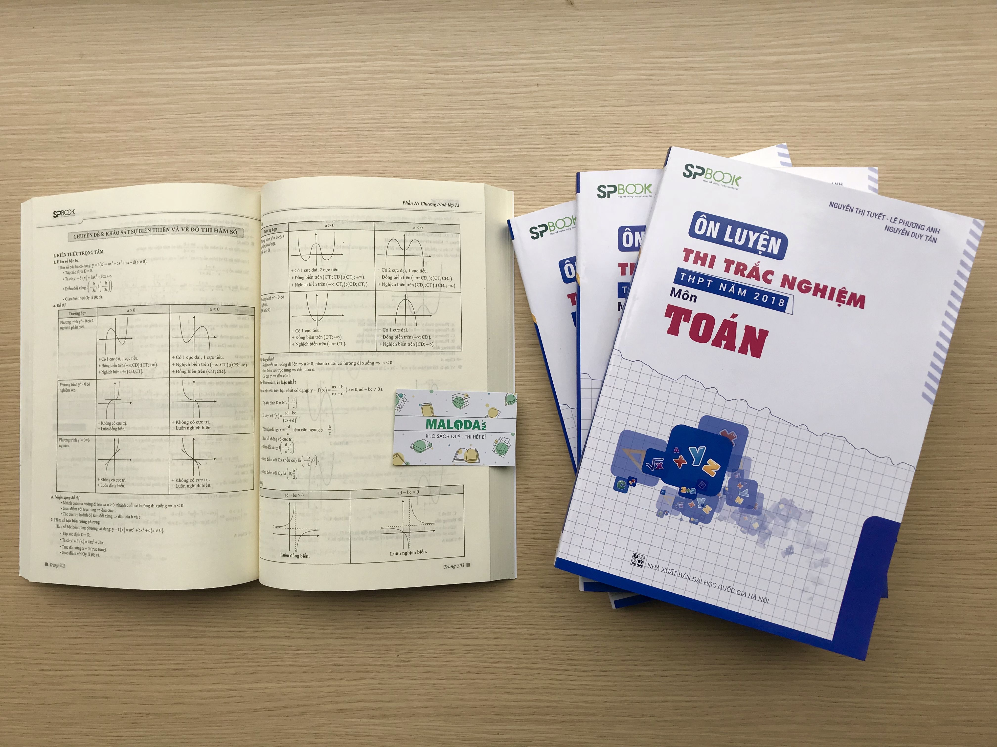 Sách ôn luyện thi trắc nghiệm thpt quốc gia 2018 môn toán