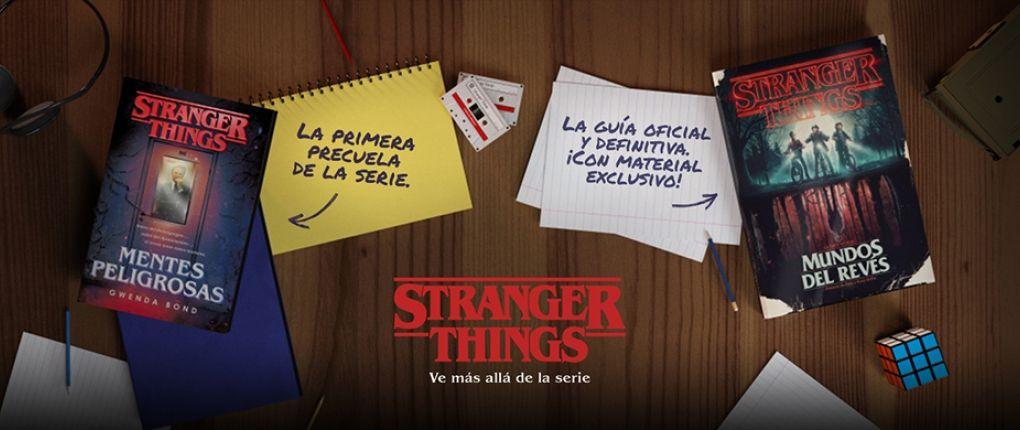 Stranger Things Precuela Y Guía Ilustrada Novedades Literarias Libros Los Mejores Libros