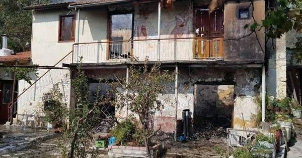 Λεμεσός: Παρανάλωμα του πυρός διώροφη κατοικία στο Κοιλάνι