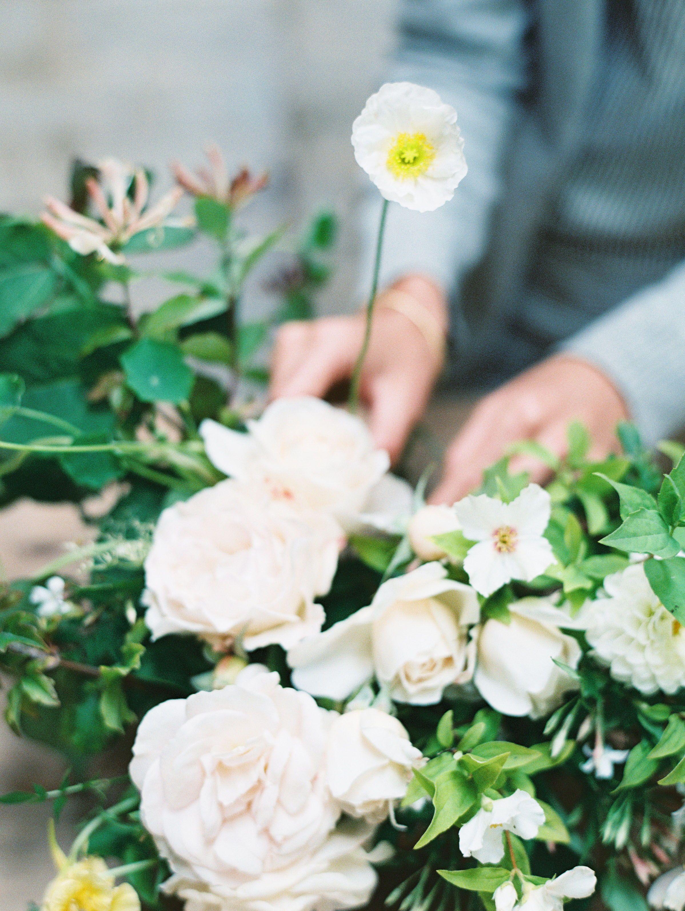 garden gate flower company, cornwall, england | branding shoot