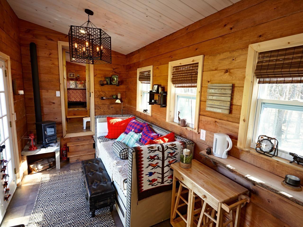 Desain Ruang Tamu Untuk Rumah Kayu