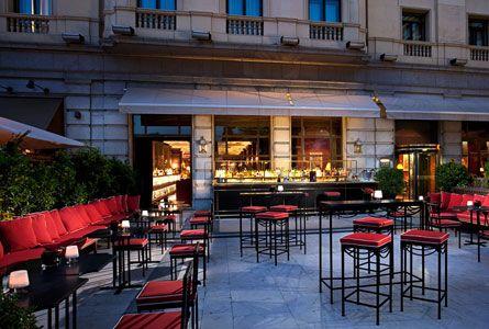 Hotel Gran Melia Fenix Madrid Terrazas Restaurantes Y Hoteles