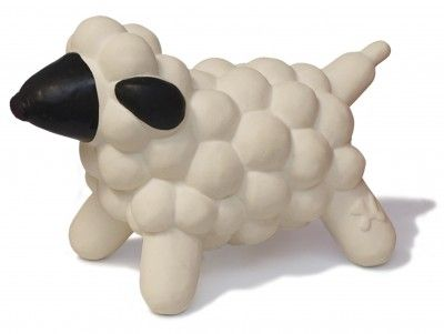 Charming Pet Balloon Shelly the Sheep Dog Toy - Small | NaturalPetWarehouse.com