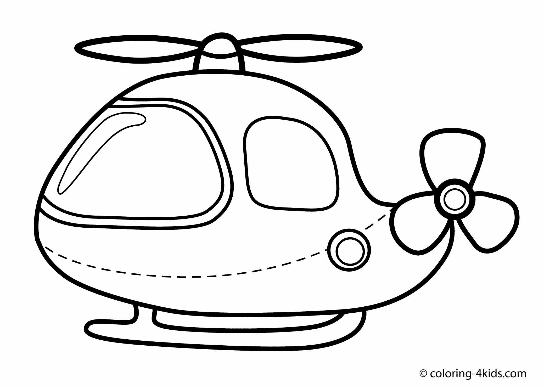 - Helicopter Coloring Page For Kids, Printable Free Helicopter