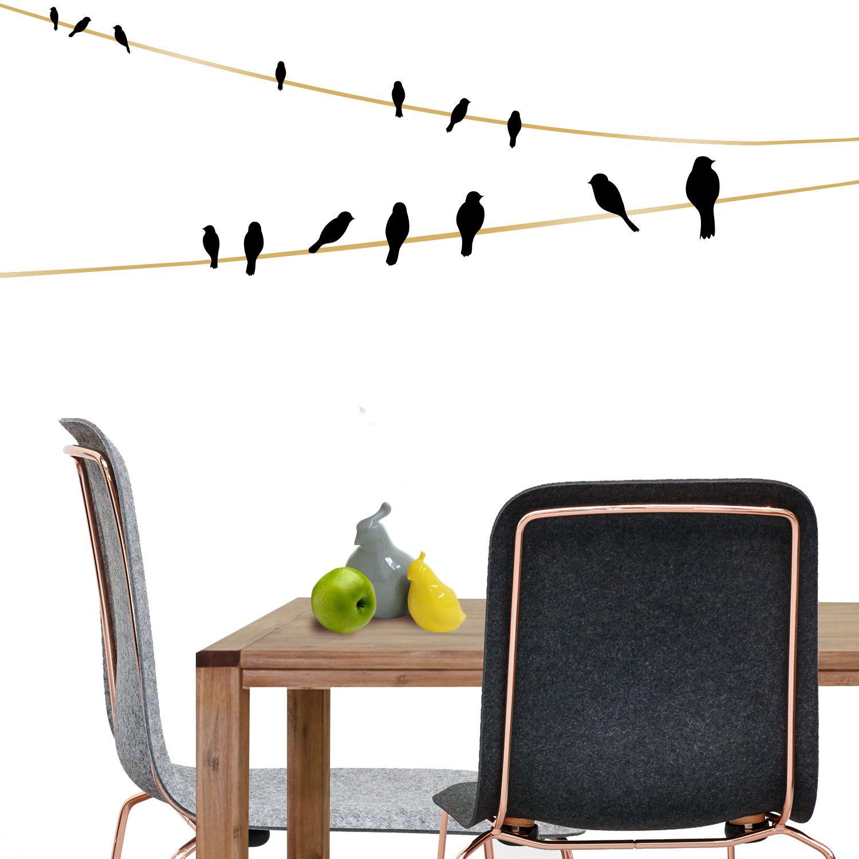 Murales pluma del pájaro naturaleza salón cocina dormitorio