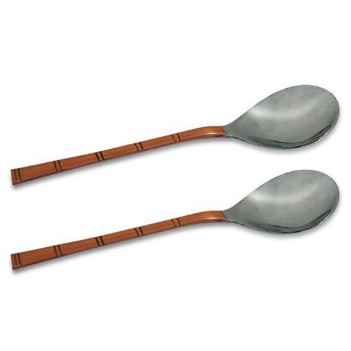 BRAND NEW Serving Spoons Set Of 2 Indian Dinnerware Serveware FREE SHIPPING