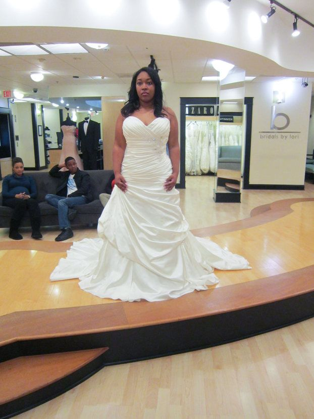Season 6 Featured Dress - Tamisha #SYTTD #Weddings this skirt