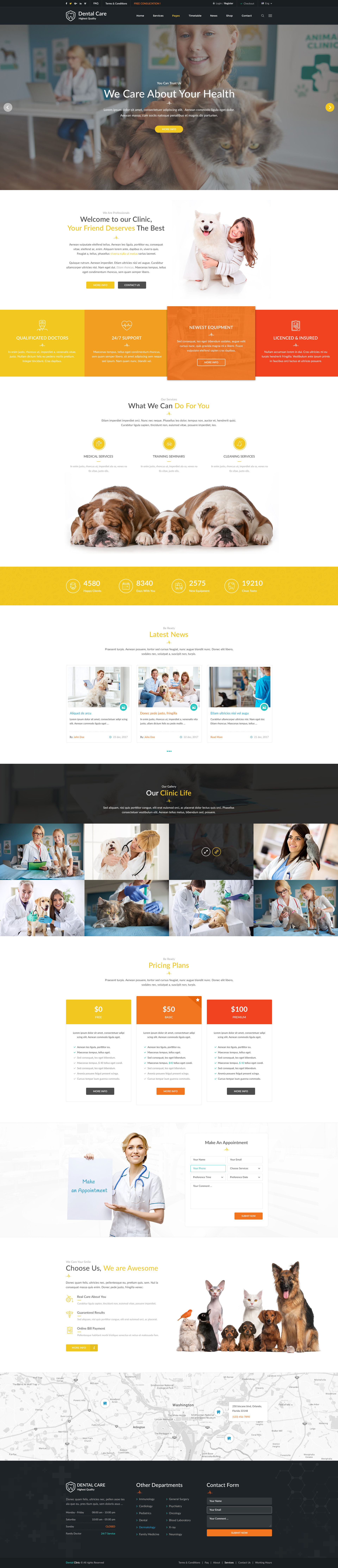 Medical #homepage. Creative #PSD #template | web design ideas ...