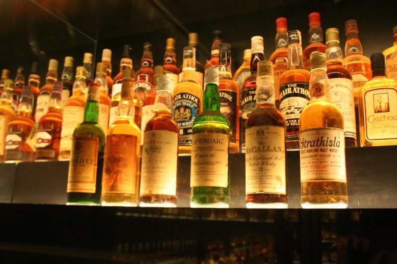 World's Largest Bottle of Scotch on Display in Edinburgh, Scotland