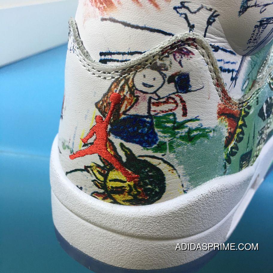 de73a21d3a2 Air Jordan 5 Wings Luminous Wings Graffiti 3m AV2405-900 Top Deals ...