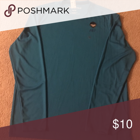 Aeropostale men's t shirt Bright blue long sleeve shirt XXL Aeropostale Shirts Tees - Long Sleeve