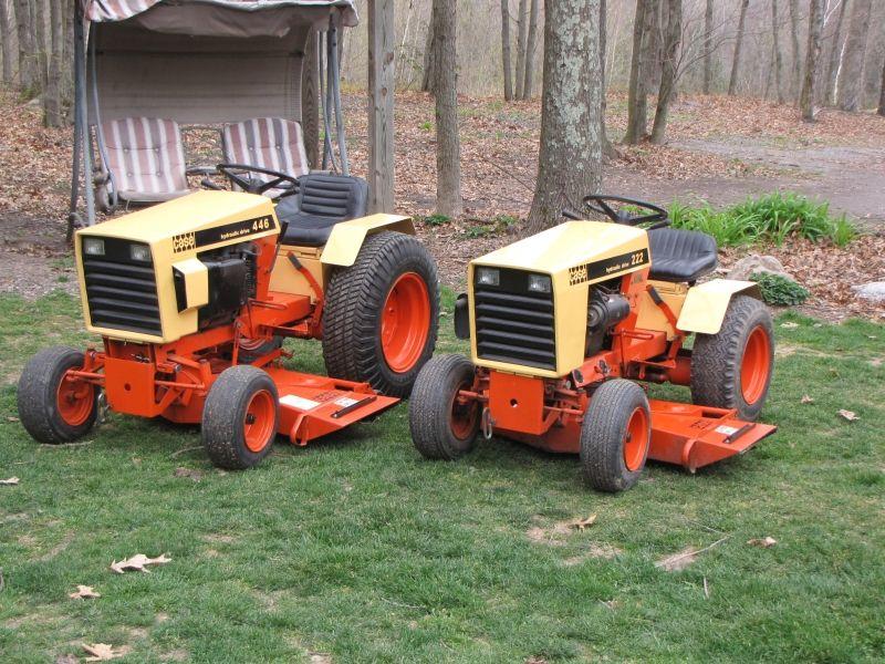 Unique Case Garden Tractors 446 And 448 Equipmentlawn 0 On Design Decorating