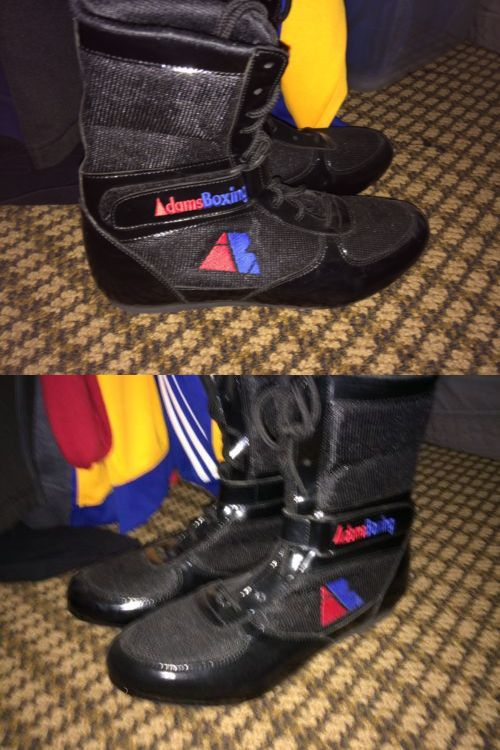 reebok boxing boots. shoes and footwear 73989: adams boxing mayweather reebok style boots size 10 -\u003e