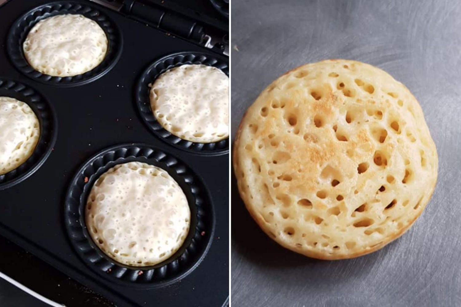 Kmart Pie Maker Fans Are Now Making Crumpets In The 29 Gadget And They Look Better Than Ones From The Shop Mini Pie Maker Mini Pie Recipes Pies Maker