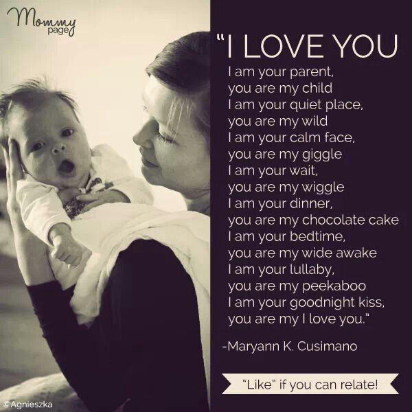 i love my children poems - photo #14