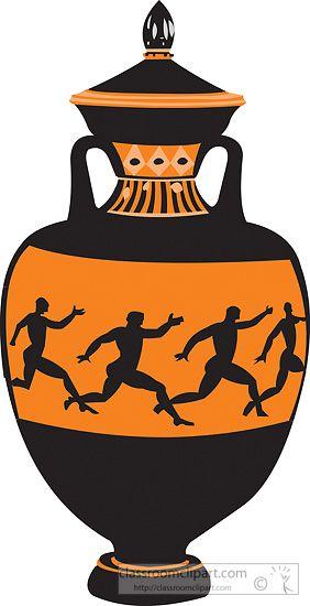 Greek Vases Clipart