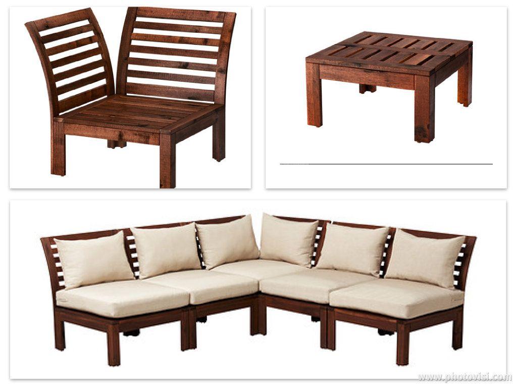 ikea applaro furniture balcony deck ideas pinterest. Black Bedroom Furniture Sets. Home Design Ideas