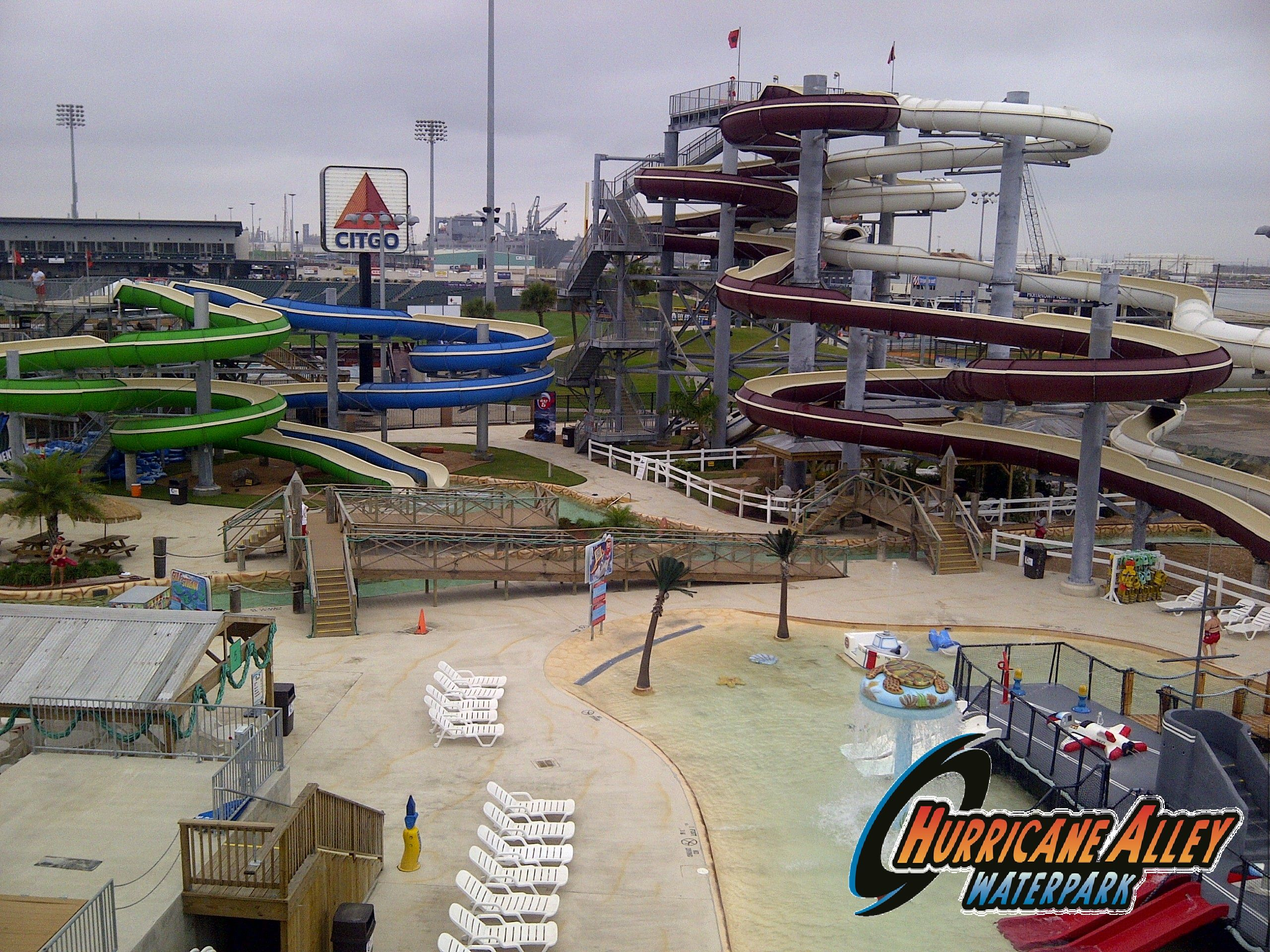 Lounge And Enjoy The Sun While Your Kids Play Aboard Uss Dusty Hacctx Hurricane Alley Waterpark Waterpark Water Park Enjoying The Sun Kids Playing