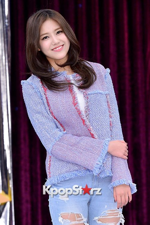 AOA's Hye Jung at a Press Conference of MBC Every1 'Match Made in Heaven Returns' - March 9, 2015