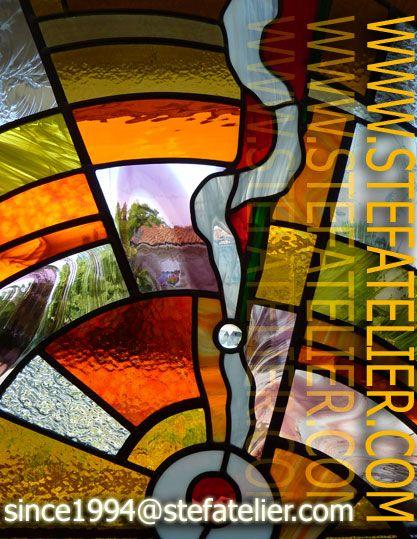 vitrail art contemporain recherche google vitrail pinterest vitraux et verre. Black Bedroom Furniture Sets. Home Design Ideas