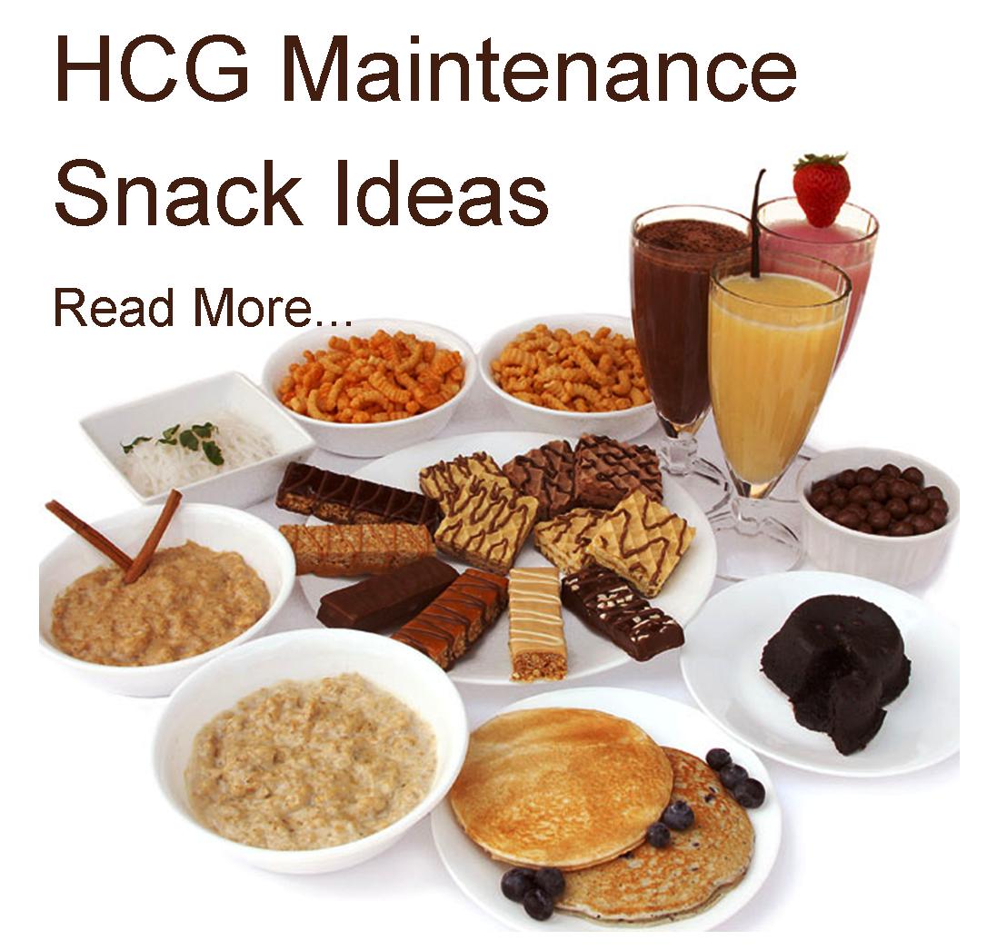 Hcg Maintenance Phase  Food List