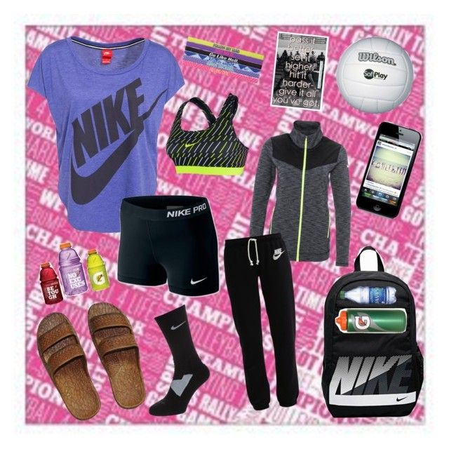 """""""#JustAnotherVolleyballPractice"""" by guest114 ❤ liked on Polyvore"""