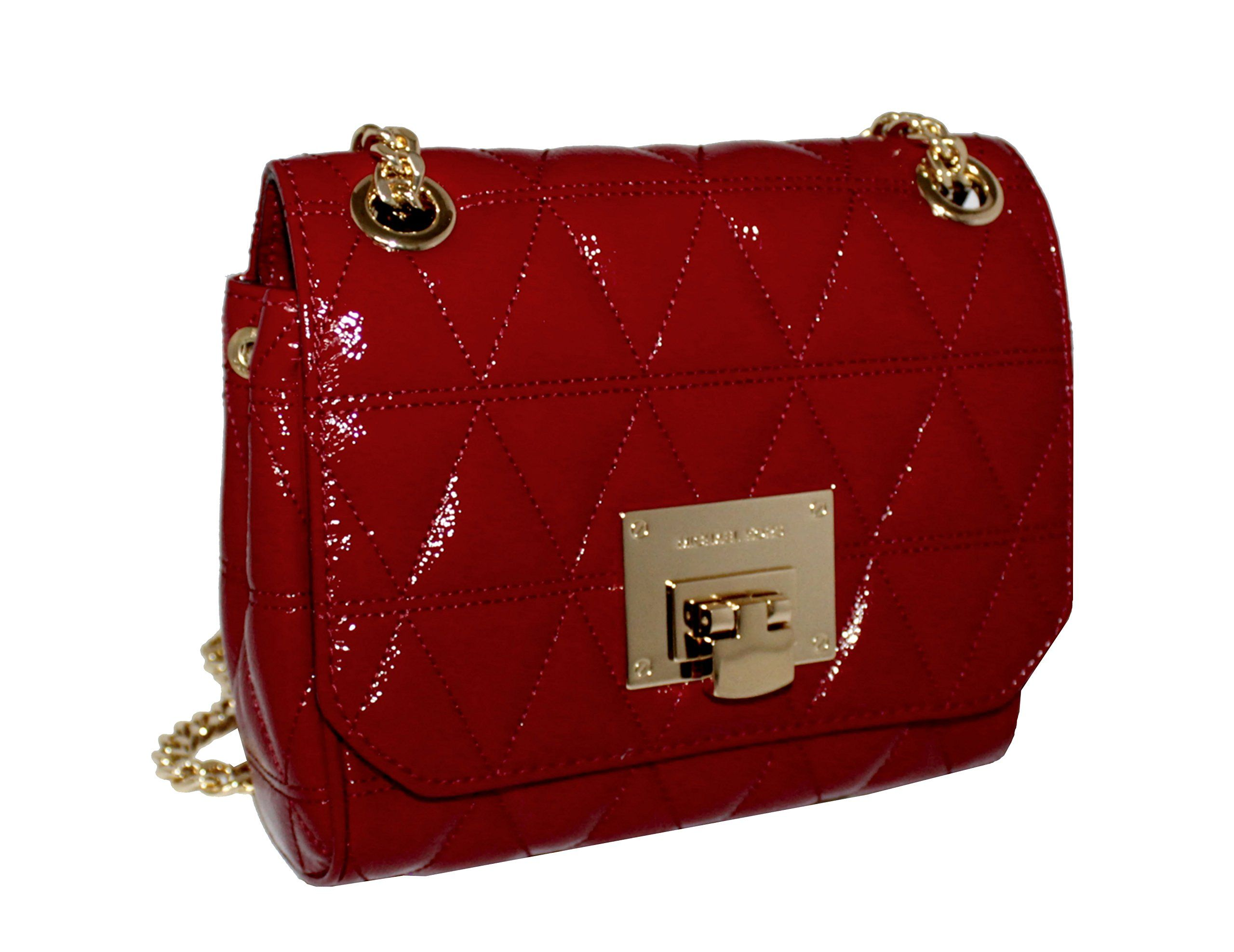 b24b316edd5c MICHAEL Michael Kors VIVIANNE Small Womens Shoulder Flap Leather Handbag  Cherry   Many thanks for visiting our picture. (This is our affiliate link)    ...
